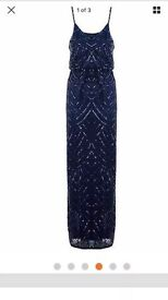 Quiz Navy sequence dress