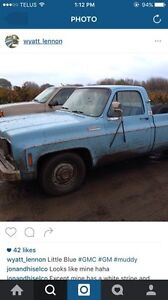 Wanted ::73-85 Chevy or gmc pickup