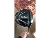 Titlesit 915 D2 driver with wrench and headacover
