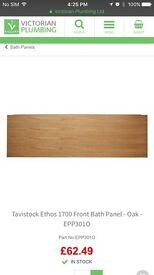 Brand NEW Oak 1700 Bath Panel -Victorian Plumbing