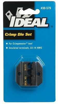 Ideal Insulated Terminal 22-10 Awg - Die Set Only Terminal Crimper 22 - 10 Aw...