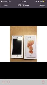 iPhone 6s in rose gold on EE Please read!