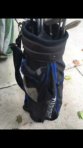 Men's Spalding Golf bags and Clubs