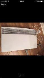 Stiebel Eltron inside electric wall heater