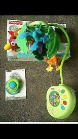 Fisher price rain forest mobile