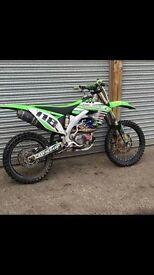 Kawasaki 450 2011