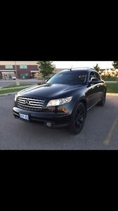 2004 infinit fx45 awd leather navigation dvd loaded Take 500$off