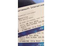 x2 standing bastille tickets