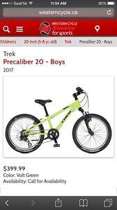 "Wanted: Boys 20"" mountain bike"