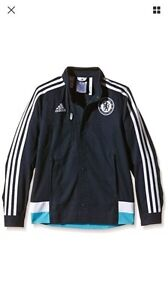 NWT Adidas Official 2014-15 Chelsea Warm-Up Jacket YXL