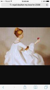 "Royal Doulton figurine ""My Love"" Sarnia Sarnia Area image 4"
