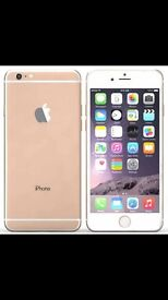 IPHONE 6 GOLD 16gb on 02