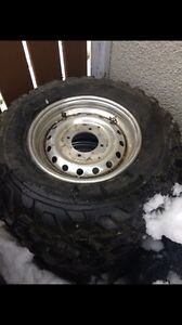 Stock rims and tires
