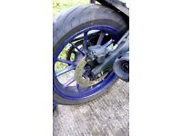 Yamaha MT 125 wheels yzf wr