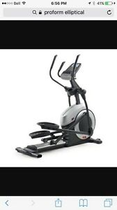 Elliptical pro form brand new condition