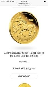 Stunning gold rare Australian coin RRP $695 Coomera Gold Coast North Preview