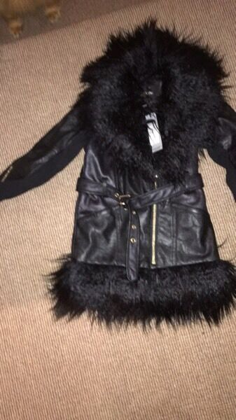 Brand new age 6 girls river island coat