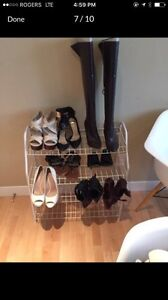 Shoes, boots, bags and more -moving sale