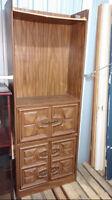 meuble antique pour bibliothèque ou pour bar, pour 10$