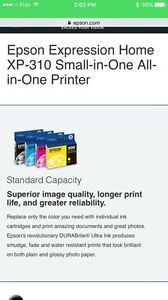 Epson smart all-in-one printer  Kitchener / Waterloo Kitchener Area image 2