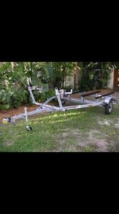 Looking for Double jet ski trailer London Ontario image 1