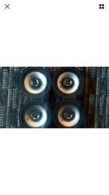 Alpine type E speakers - 5.25 inch 200 watts each speaker