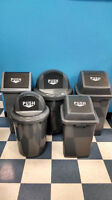 Super low prices for garbage bins - home or office!