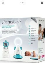 Angelcare movement & sound baby monitor- new