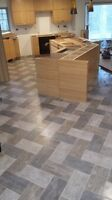 Tile and hardwood installs