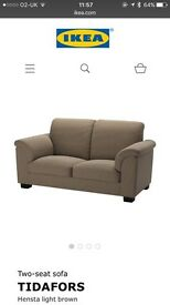 Ikea Tidafors two seat sofa