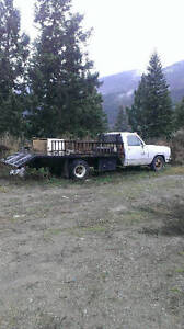 75 Dodge dually beavertail car hauler