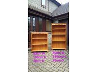 Bookshelves x 2
