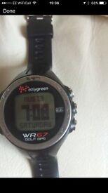 EasyGreen golf GPS wstch