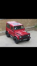 Land Rover defenders WANTED. CARS VANS CLASSIC CARS WE BUY CASH