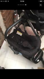 Silver cross pushchair and travel kit