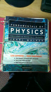 Fundamentals of Physics, 9th edition, by Jearl Walker