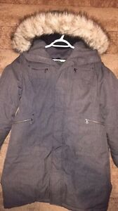 """TNA """"VERBIER"""" Winter Parka in Charcoal London Ontario image 1"""