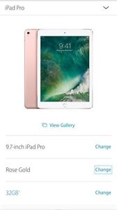 Brand new sealed iPad Pro 32GB for sale