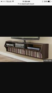 TV stand wall mounted
