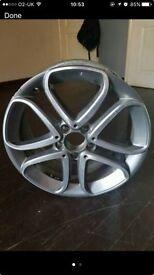 Mercedes alloy