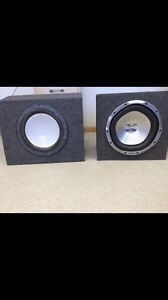 Car subs Sony Xplod 1300w and Punch 10""