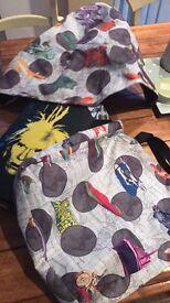 Bugaboo bee 3+ Andy Warhol hood & tote bag