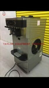 Taylor 1  phase air cool soft serve ice cream machine