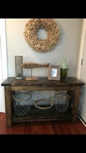 Farmhouse Hallway/Entrance Table - new
