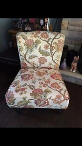 Classy accent chair