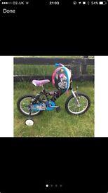 16 inch monster high girls bike