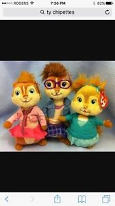 Ty plush chipettes London Ontario image 1
