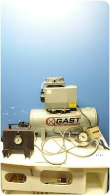 Gast Doa-p1006-aa Vacuum Pump Oil-less Gast Air Tank Compressor 271884