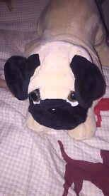 Pug dog teddy