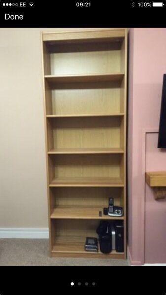 John Lewis bookshelf. Like new. RESERVED